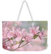 Pink Azalea Flowers In The Spring Weekender Tote Bag