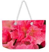 Pink Azalias Weekender Tote Bag