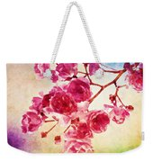 Pink Blossom - Watercolor Edition Weekender Tote Bag