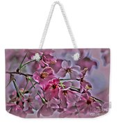 Pink Blossoms - Paint Weekender Tote Bag