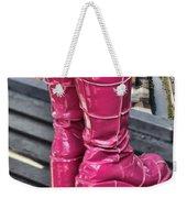 Pink Boots Weekender Tote Bag
