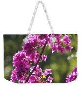 Pink Bougainvillea Sunshine Weekender Tote Bag