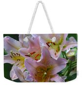 Pink Bridal Bouquet Weekender Tote Bag