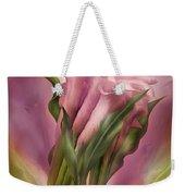 Pink Callas Weekender Tote Bag