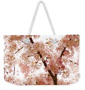 Pink Cherry Blossoms - Impressions Of Spring Weekender Tote Bag