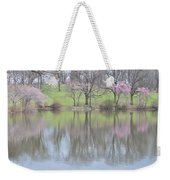 Pink Cherry Reflections Weekender Tote Bag
