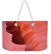 Pink Cleft II - Antelope Canyon Weekender Tote Bag