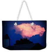 Pink Cloud Over Lexington Weekender Tote Bag