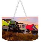 Pink Clouds At Isle Of Palms Weekender Tote Bag