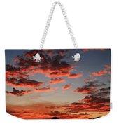 Pink Clouds Weekender Tote Bag