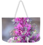 Pink Coned Cabbage Weekender Tote Bag