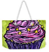 Pink Cupcake Weekender Tote Bag