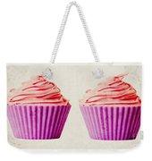 Pink Cupcakes Weekender Tote Bag