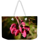 Pink Curls - Flower Macro Weekender Tote Bag