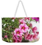 Pink Curtain Weekender Tote Bag