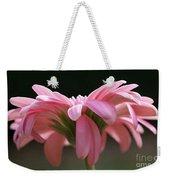 Pink Daisy 1 Weekender Tote Bag