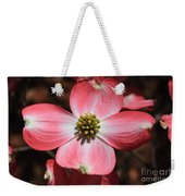 Pink Dogwood At Easter 5 Weekender Tote Bag