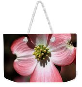 The Cross Of Christ Pink Dogwood At Easter 7 Weekender Tote Bag