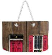 Pink Door Weekender Tote Bag