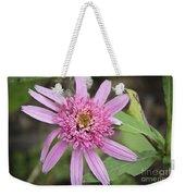Pink Double Delight Echinacea Weekender Tote Bag