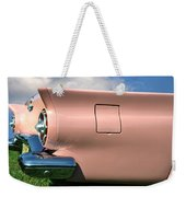 Pink Fins Weekender Tote Bag by Bill Cannon