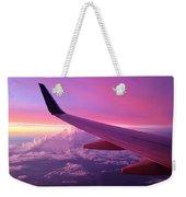 Pink Flight Weekender Tote Bag