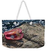 Pink Flip Flop Weekender Tote Bag