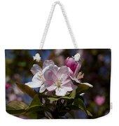 Pink Flowering Crabapple - Malus Weekender Tote Bag