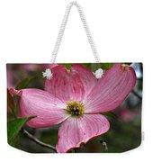 Pink Flowering Dogwood Weekender Tote Bag