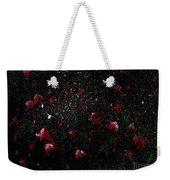 Pink Flowers In Twilight Weekender Tote Bag