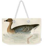 Pink Footed Goose Weekender Tote Bag