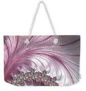 Pink Froth A Fractal Abstract Weekender Tote Bag