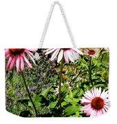 Pink Garden Weekender Tote Bag