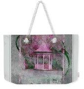 Pink Gazebo Weekender Tote Bag