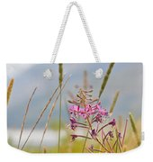 Pink Gem - Fire Weed Wildflower In Grand Teton National Park - Wyoming Weekender Tote Bag