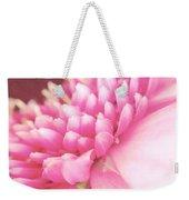 Pink Gerber Daisy Weekender Tote Bag