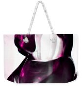 Pink Glass Bear Weekender Tote Bag