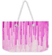 Pink Grunge Color Splatter Graffiti Backstreet Wall Background  Weekender Tote Bag