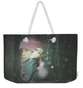 Pink Hat Weekender Tote Bag