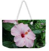 Pink Hibiscus #3 Weekender Tote Bag