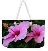 Pink Hibiscus II Weekender Tote Bag