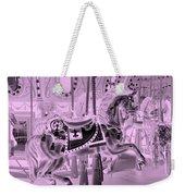 Pink Horse Weekender Tote Bag