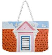Pink House Weekender Tote Bag