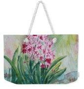 Pink Hyacint Weekender Tote Bag
