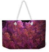 Pink Hydrangea Fractal Blossoms Weekender Tote Bag