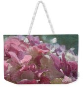 Pink Hydrangea Photoart I Weekender Tote Bag