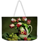Pink In A Pitcher Weekender Tote Bag