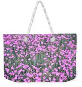 Pink Incarnated Weekender Tote Bag by Sonali Gangane