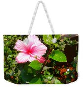 Pink Java Flower  Weekender Tote Bag
