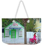 Pink Lady And The Conch Shop  Weekender Tote Bag